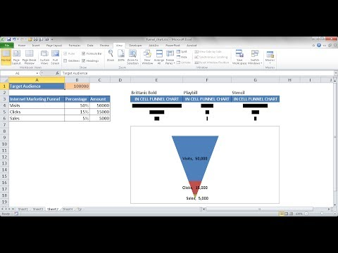 How to Create an Excel Funnel Chart