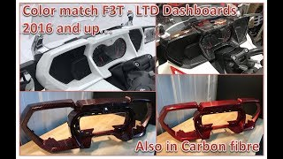 8. F3T - LTD Spyder amazing color match dashboards !! Also in carbon fibre