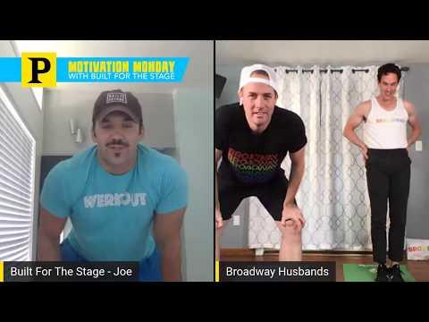 Watch Broadway Husbands Podcast Hosts Bret Shuford and Stephen Hanna Join Motivation Monday