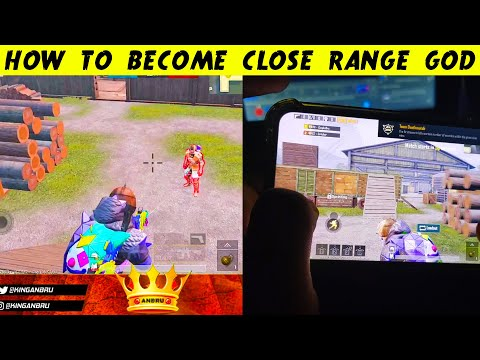 HOW To Become a Close Range GOD in PUBG Mobile
