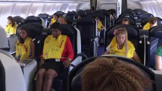 Video CABIN CREW TRAINING: DITCHING - LONG (FULL)  PREPARATION MP3, 3GP, MP4, WEBM, AVI, FLV April 2019