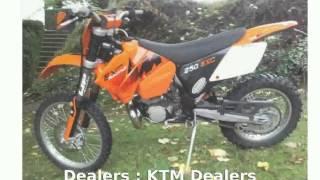 5. 2006 KTM XC 250 - Features, Specs
