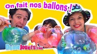 Video Crystal Ball ! On fait des ballons nous-même - Démo Jouets MP3, 3GP, MP4, WEBM, AVI, FLV Mei 2017