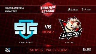 SG-eSports vs Luccini, DreamLeague SA Qualifier, game 2 [Mila, Inmate]