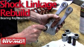9. Motorcycle Shock Linkage Rebuild & Bearing Replacement