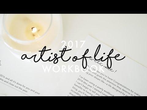2017 Artist of Life Workbook | Lavendaire