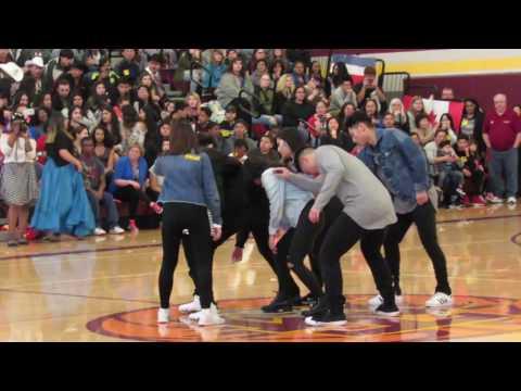K-POP Performance 2016-2017 | Mount Tahoma High School Multi-Cultural Assembly (видео)