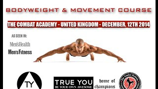 Corse United Kingdom  city photos : BODYWEIGHT & MOVEMENT COURSE - UNITED KINGDOM - DECEMBER, 12TH 2014