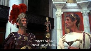 Video Biggus Dickus - Monty Python, Life of Brian. MP3, 3GP, MP4, WEBM, AVI, FLV November 2018