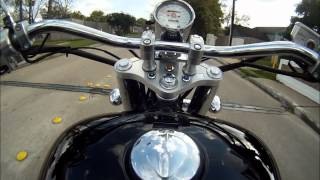 7. Honda Shadow Sabre (VT1100) Demonstrations