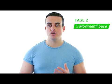 Allenamento con i pesi: le 4 fasi