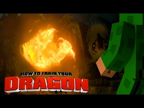 Minecraft – HOW TO TRAIN YOUR DRAGON 2 – [9] 'Fire Dragon Challenge'