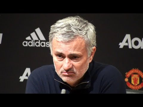 Manchester United 2-1 Chelsea - Jose Mourinho Full Post Match Press Conference - Premier League (видео)