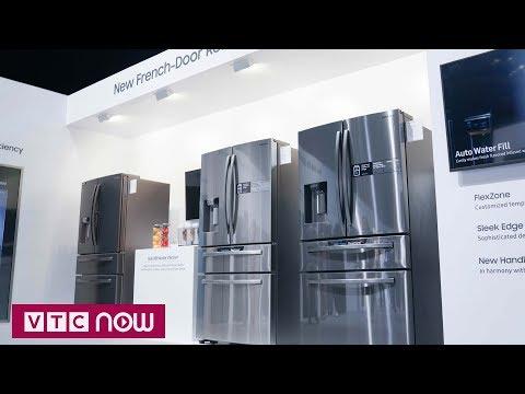 Kết nối gia đình với tủ lạnh Samsung Family Hub | VTC1 - Thời lượng: 3 phút, 12 giây.