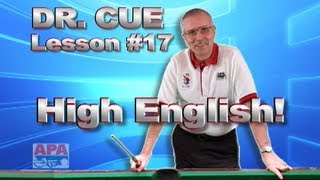 APA Dr. Cue Instruction - Dr. Cue Pool Lesson 17: High English Practice