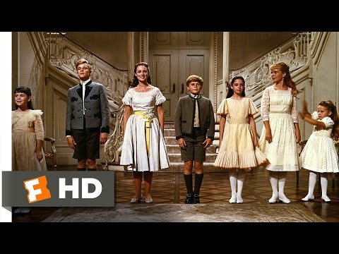The Sound of Music (5/5) Movie CLIP - So Long, Farewell (1965) HD (видео)