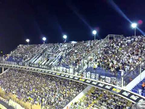 HINCHADA DE ALL BOYS EN LA BOMBONERA - La Peste Blanca - All Boys