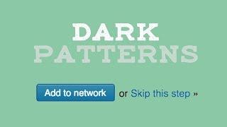 How Dark Patterns Trick You Online