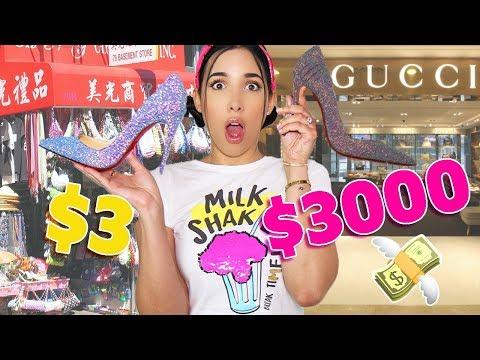 ZAPATO BARATO vs CARO 👠 - $30 vs $3000 CUÁL ES MEJOR? 💸   Mariale