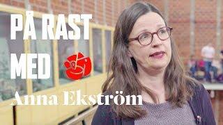 På rast med Anna Ekström