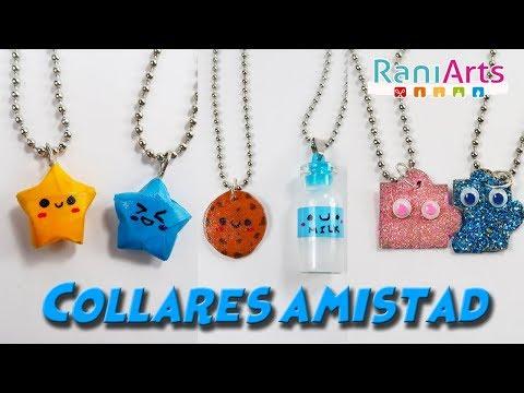Diseños de uñas - DIY - COLLARES DE AMISTAD - FRIENDSHIP NECKLACES
