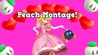 Smash Bros. Peach Montage!