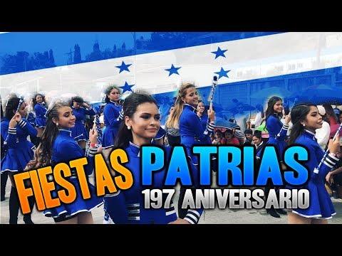 Desfiles patrios Honduras 15 de septiembre 2018 | the yirs