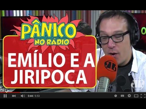 """Emílio descobre significado da expressão """"Jiripoca vai piar""""   Pânico"""