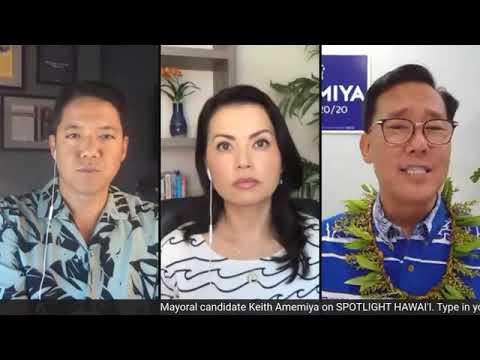 2020 Honolulu Mayor candidate Keith Amemiya - Spotlight Hawaii