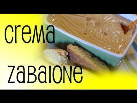crema di zabaione - ricetta