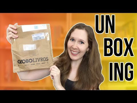 Unboxing - Presente da Globo Alt | Leituras de Deni