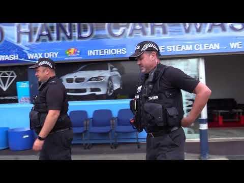 Day of action at Northampton car wash and nail bars as part of Op Viper