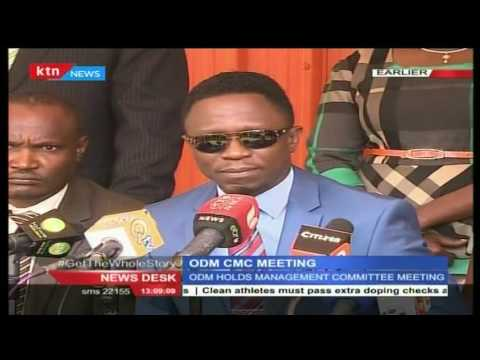 ODM Secretary General, Ababu raises concern over rebellious MPs in ODM