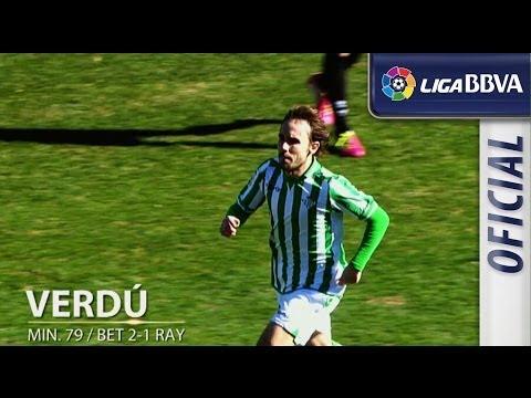 Edición limitada: Real Betis (2-2) Rayo Vallecano - HD (видео)