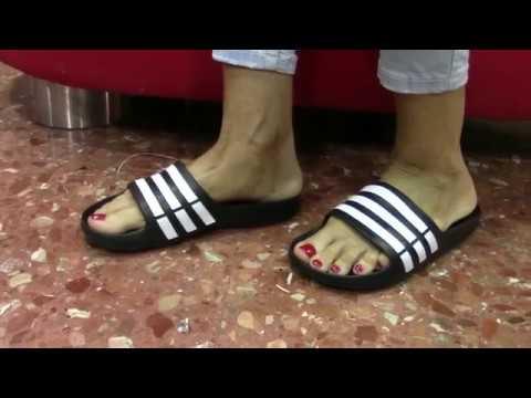 Modelos de uñas - Chanclas Adidas Mujer - Chanclas Verano 2019 -2020