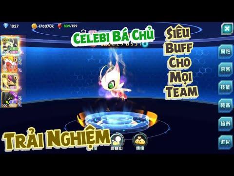 Pokeland Legends - Overlord Celebi   Tiến hóa bá chủ Celebi - 口袋妖怪3DS