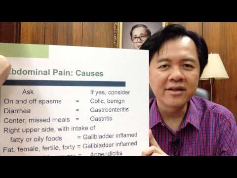 Stomach and Abdominal Pain - Dr Wilie Ong Health Blog #39