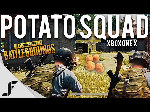 POTATO SQUAD - PUBG Xbox One X