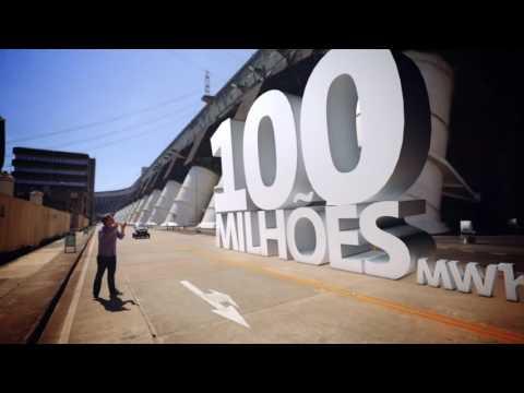 Itaipu rumo aos 100 milhões de MWh