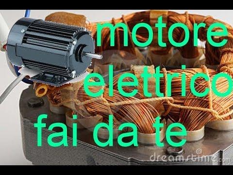 motore elettrico DC Fai Da Te