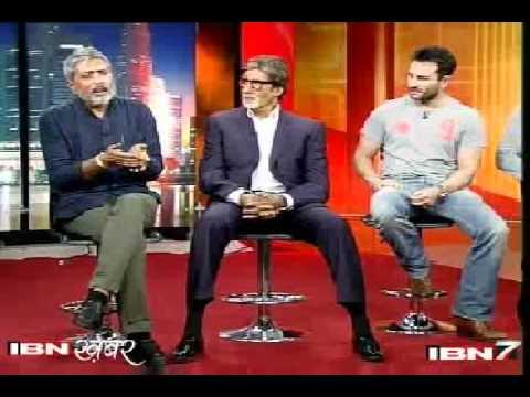 Aarakshan,आरक्षण, The Reservation. Exclusive Interview By Pankaj Bhrigu at IBN7.
