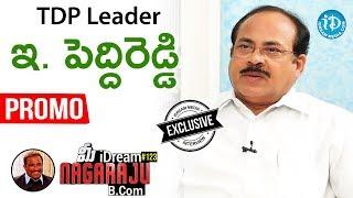 TDP Leader E Peddireddy Exclusive Interview