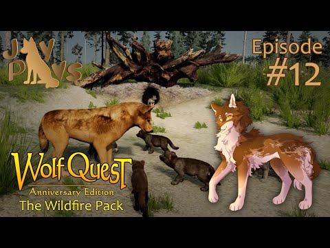 A Flash of Fiery Puppies! | WolfQuest: The Wildfire Pack #12