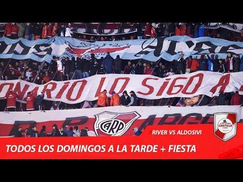 TODOS LOS DOMINGOS + FIESTA / River Plate vs Aldosivi - Torneo 2017 - Los Borrachos del Tablón - River Plate