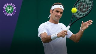 Replay of Roger Federer's live training session at Wimbledon 2017. SUBSCRIBE to The Wimbledon YouTube Channel: http://www.youtube.com/wimbledon ...