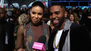 Jordin Sparks and Jason Derulo on His Sexiest Man Title at American Music Awards