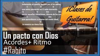 Un pacto con Dios tutorial con guitarra acustica