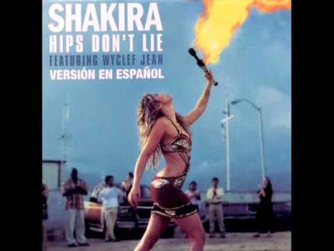 Tekst piosenki Shakira - Hips Don't Lie (Spanish Version) (feat. Wyclef Jean) po polsku