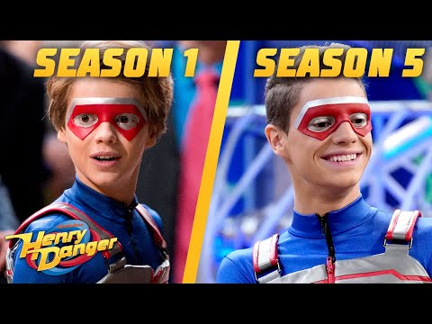 Henry & Captain Man's Crime Fighting Timeline 🥊| Henry Danger