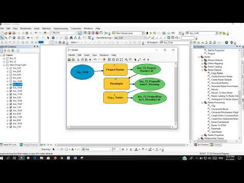 MaxEnt Data preparation using ArcGIS Model Builder